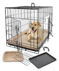 pet dog cat cage crate kennel and bed cushion warm soft cozy house
