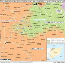 Syria Map Location by More Maps Of The Syrian Civil War A