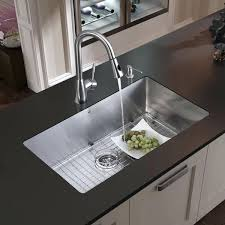 kitchen sink faucet combo sink and faucet set all in one mercer stainless steel kitchen sink