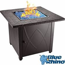 best gas fire pit tables top 10 best gas fire pit tables in 2018 closeup check