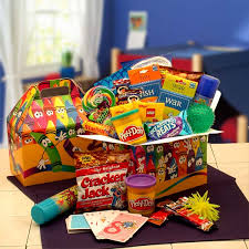 a gift basket 4 you kids just wanna have fun care package