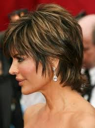 side and back views of shag hairstyle lisa rinna hairstyle back view lisa rinna short shag haircuts