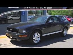 2008 Black Ford Mustang 2008 Ford Mustang V6 Premium Black Clearcoat Youtube