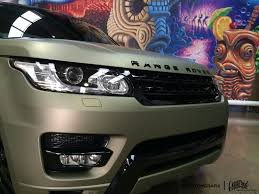 land rover metallic custom grafix midnight matte sand metallic range rover paint