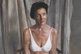 Fiona Shaw Nude - contemporary portrait paintings that became instant icons widewalls