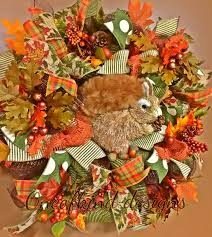 Thanksgiving Deco Mesh Wreaths 63 Best Fall Thanksgiving Wreaths Images On Pinterest