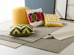 Cushion Rugs Flooring Awesome Surya Rugs On Dark Hardwood Floor For Exciting