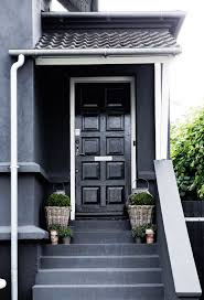 Black Exterior Gloss Paint - how to curate a show stopping front door u2014 the decorista