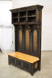 awesome entryway hall tree bench foter intended for entry ordinary