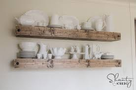 Dining Room Shelves Diy Floating Shelf Plans For The Dining Room Shanty 2 Chic