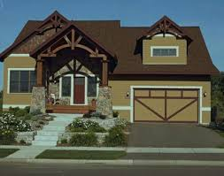 exterior paint schemes for brown roofs paint color pinterest
