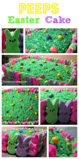Decorating With Peeps For Easter by Wonderful Diy Super Cute Easter Peep Cake Easter Cake And Holidays