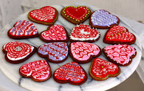 valentines cookies kitchen window hearts that are meant to be broken npr