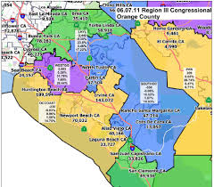 Ca Counties Map Redistricting Commission In O C For Public Input Saturday
