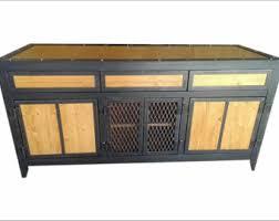 Ashmore Sideboard Vintage Look Industrial Media Cabinet 010 Industrial