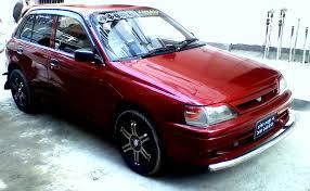 toyota starlet toyota starlet hatchback 1500cc urgent sale clickbd