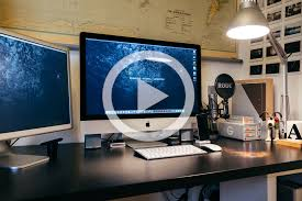 imac desk photography desk setup organize your workspace to increase your