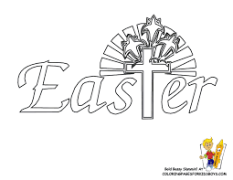 jesus easter pictures coloring home