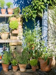 vertical herb garden hgtv