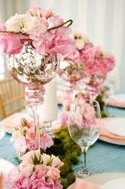 wedding table floral arrangements wedding table