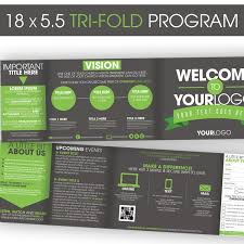 Tri Fold Program 18 5 5 Tri Fold Program Ministry Marketplace