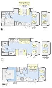 Camper Floor Plans by Best 25 Class C Motorhomes Ideas On Pinterest Class C Campers