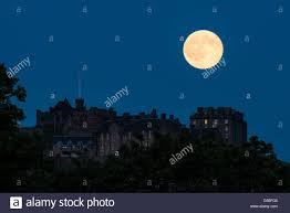 full strawberry moon edinburgh scotland uk 20th june 2016 strawberry moon the