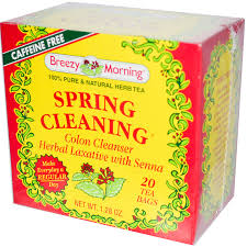 Springcleaning Breezy Morning Teas Spring Cleaning Colon Cleanser Caffeine