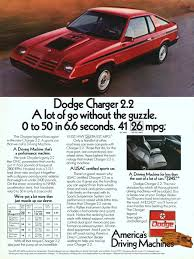 1981 dodge charger dodge charger advertisement gallery