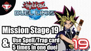 membuat game yugioh yu gi oh duel links 19 mission stage 19 use spell card or