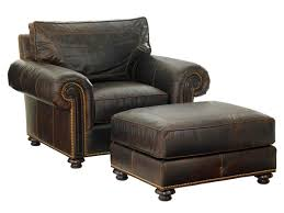 Leather Chair by Kilimanjaro Riversdale Leather Chair Lexington Home Brands