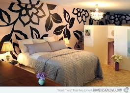 Wonderfully Designed Mural Wallpapers In The Bedroom Home - Wallpaper design for bedroom