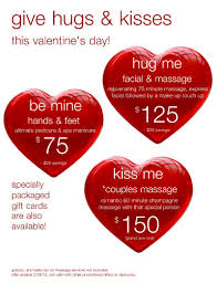 special valentine u0027s packages from phresh spa salon salon