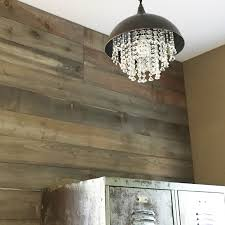 from gardners 2 bergers diy almost barnwood wall