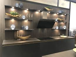 floating kitchen shelves with lights open kitchen shelving and the flexibility that comes with it