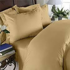 Comforter Thread Count Gold Twin Xl Duvet Style Comforter Set 100 Cotton 550 Thread