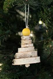 diy wooden tree ornaments