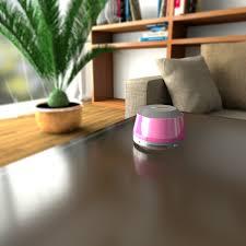 azatom droid bluetooth speaker pink