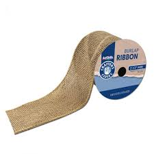 burlap ribbon burlap ribbon 1 ct