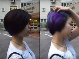 dye bottom hair tips still in style color changing hair dye responds to temperature geekologie