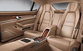 porsche panamera inside interior design features of the porsche panamera turbo s