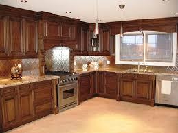 kitchen tranquil interior of beige kitchen with timeless cabinet