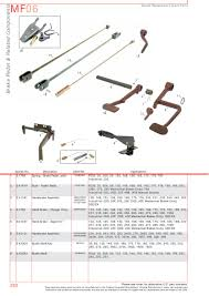 massey ferguson brakes page 272 sparex parts lists u0026 diagrams