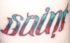 tattoos words