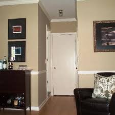 Two Tone Walls With Chair Rail Stained Chair Rail Design Ideas