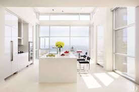 stylish functional contemporary kitchenign ideas white with small