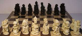 Unique Chess Set Wird And Rare Chess Set Chess Forums Chess Com