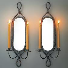 Wrought Iron Candle Wall Sconces Sconces For Candles U2013 Senalka Com