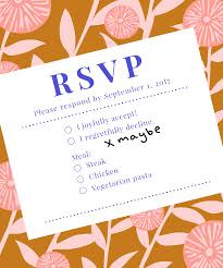 how to refuse an invitation how to decline wedding invitation say no rsvp etiquette