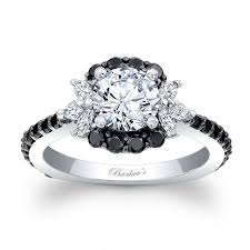 black diamonds rings images Barkev 39 s black diamond engagement ring 7930lbkw jpg
